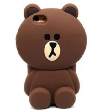 Teddy Bear Silicone iphone 6 case