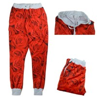 Vibrant Rose Joggers from Dope Fein Boutique