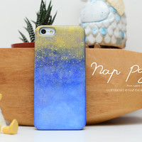 apple iphone case : Special gold painting edition