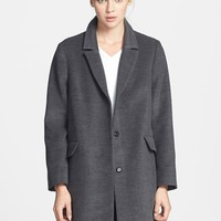 Women's Topshop 'Maisie' Top Coat (Nordstrom Exclusive)