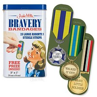Ribbon and Medal Bravery Award Bandages