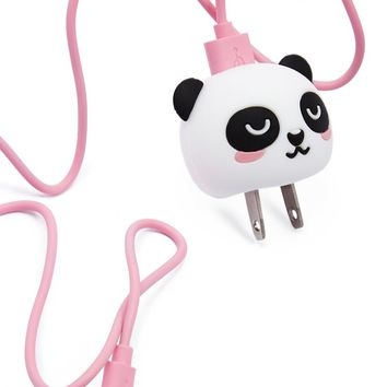 Panda Plug Cover & USB Cord Set