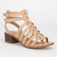 City Classified Tab Womens Fisherman Sandals Taupe  In Sizes