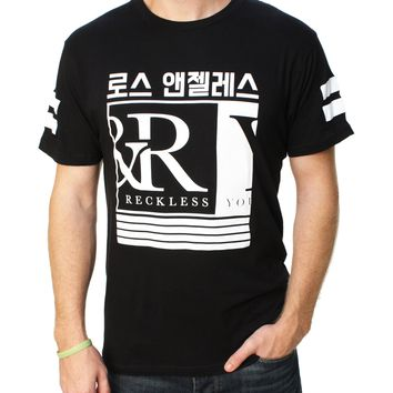 Young & Reckless Men's Barred Up Graphic T-Shirt