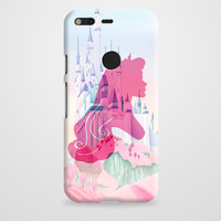 Silhouettes Of Princess Aurora Google Pixel XL Case | casefantasy