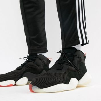 adidas Originals Crazy BYW Sneakers In Black B37480 at asos.com