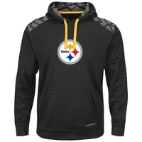 Majestic Pittsburgh Steelers Armor Pullover Synthetic Fleece