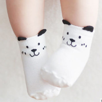 Unisex Baby Cotton Socks Newborn Baby Infant Anti Slip Floor Socks Spring Summer Kids Boy Girl Cartoon Animal Socks LA804966