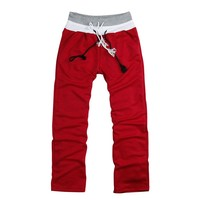 Fashion Men's  Loose Casual Sweatpants Trousers