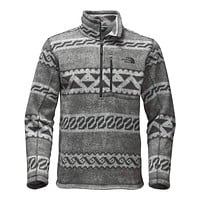 Men's Novelty Gordon Lyons 1/4 Zip in Monument Grey Print by The North Face