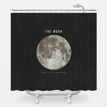 The Earth's Moon Shower Curtain