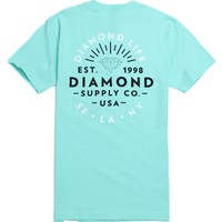 Diamond Supply Co Diamond Bright T-Shirt - Mens Tee - Green