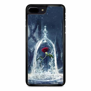 Disney Rose Beauty and the beast iPhone 8 Plus Case