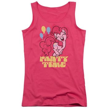 My Little Pony Juniors Tank Top Party Time Hot Pink Tanktop