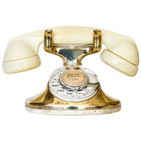 Western Electric Gold Plated Telephone