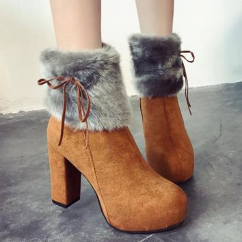 Womens Ankle Boots | Platform Heels Boots