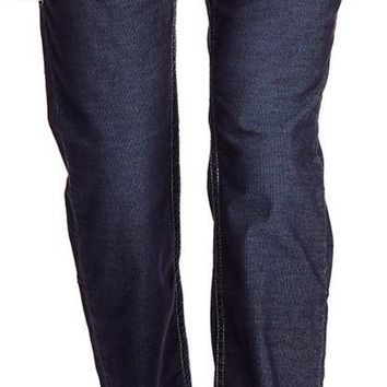 New with Tag - True Religion Men's Corduroy Straight Flap Pant in DHX-True
