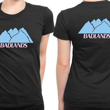 Badlands Halsey Logo 2 Sided Womens T Shirt