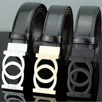Ferragamo fashion women Multicolor belt
