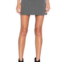 Fifteen Twenty Flare Mini Skirt in Heather