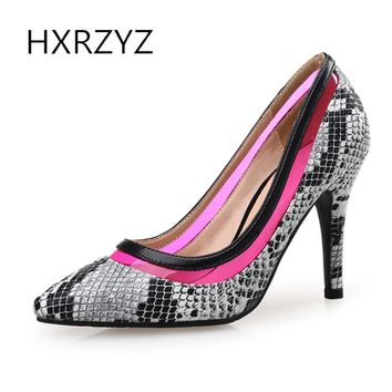 HXRZYZ women high heels sexy wedding shoes