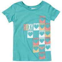 Roxy Heart Checker T Shirt -Kids $14.40
