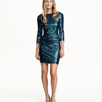 H&M Sequined Dress $59.99