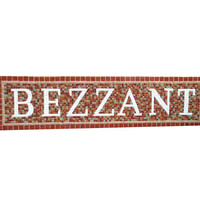 Family Name Sign, Last Name Art, Custom Mosaic, Wedding Gift Idea