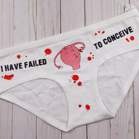 Dishonor To My Family | Period Panties | Underwear