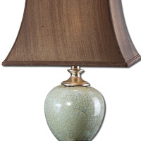 Uttermost Piovera Rust Blue Table Lamp - 27478