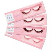 Etude House - Princess Eyelash - Pointlash - 4 choices - at W2Beauty with lots of samples