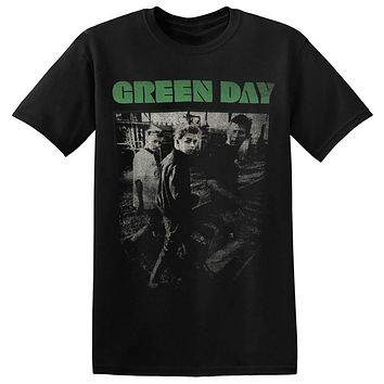 SHIRT GREEN DAY T Shirt Men US Punk Rock Rock Band New Graphic Printed Tee 1-A-001 Design Style New Fashion Short Sleeve