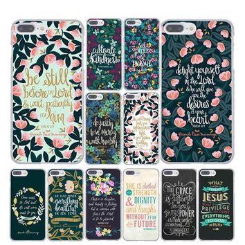 Christian Theme Bible Verse iPhone Cases