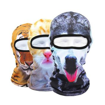 2018 New arrival couple's swimming cap animal swimming sunscreen mask cap for the pool men's silicone swimming cap summer swim
