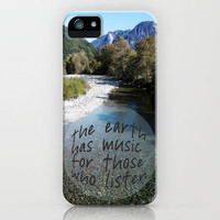 the earth has music iPhone Case by Sylvia Cook Photography   Society6