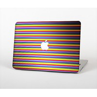 The Horizontal Multicolored Stripes Skin Set for the Apple MacBook Air 11""