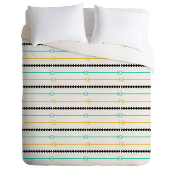 Allyson Johnson Arrow Pattern Duvet Cover