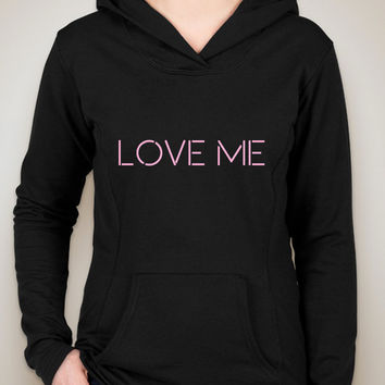 "The 1975 ""Love Me"" Unisex Adult Hoodie Sweatshirt"