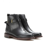 DRISCOLL LEATHER ANKLE BOOTS