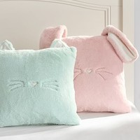Cozy Luxe Critter Pillow Covers