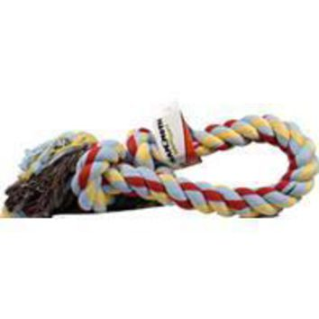 Mammoth Pet Products - Flossy Chews 2 Knot Rope Tug Dog Toy