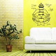 Wall Decals Doubt Everything Find Your Own Light Buddha Quote Lotus Flower Lighthouse Meditation Wisdom Inspiration Yoga Studio Vinyl Decal Sticker Home Décor Living Murals S6