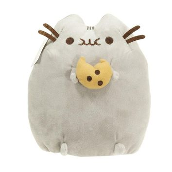 15cm Kawaii Soft Plush Toy Stuffed Animal Doll Toy Pusheen Cat Eat Ice Cream & Cake & Cookice for Baby Kid