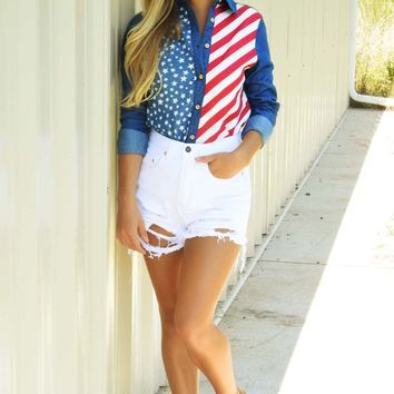 Party In The USA Top: Multi
