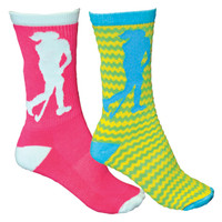 Field Hockey Player Crew Sock-longstreth