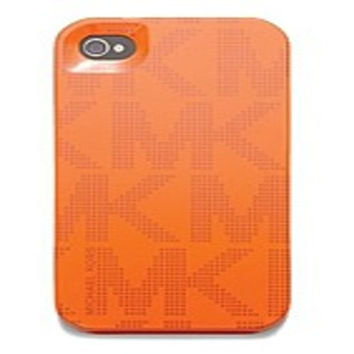 Michael Kors 32S3GELL1P-ORG Hard Case Cover for iPhone 5 - Tangerine