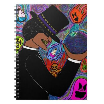 He's The Magic Man Spiral Notebook