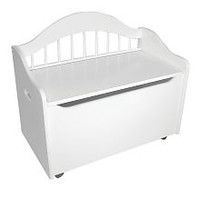 KidKraft Limited Edition Toy Chest - White