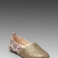 House of Harlow Stud Kye Flat in Brown/Rosegold from REVOLVEclothing.com