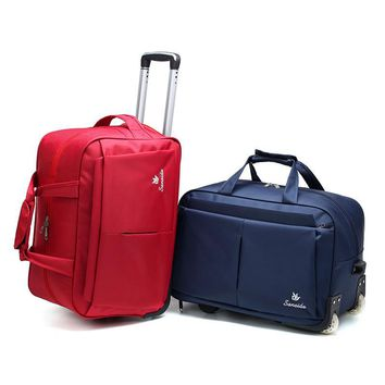 Trolley Travel Bag Hand Luggage Rolling Duffle Bags